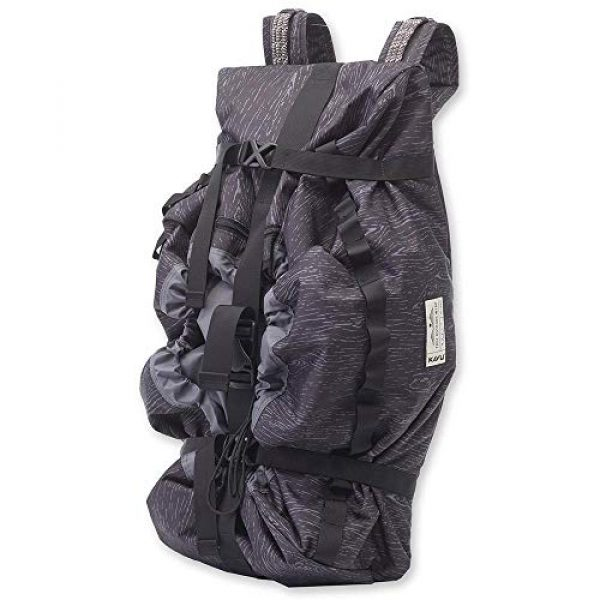 KAVU Tactical Backpack 1 KAVU Shapiro Backpack Duffle Bucket Rope Bag for Rock Climbing, Outdoor and Camping