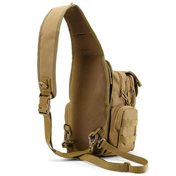 G4Free Tactical Backpack 5 G4Free Tactical EDC Sling Bag Pack with Pistol Holster Sling Shoulder Assault Range Backpack Handgun Gag for Concealed Carry