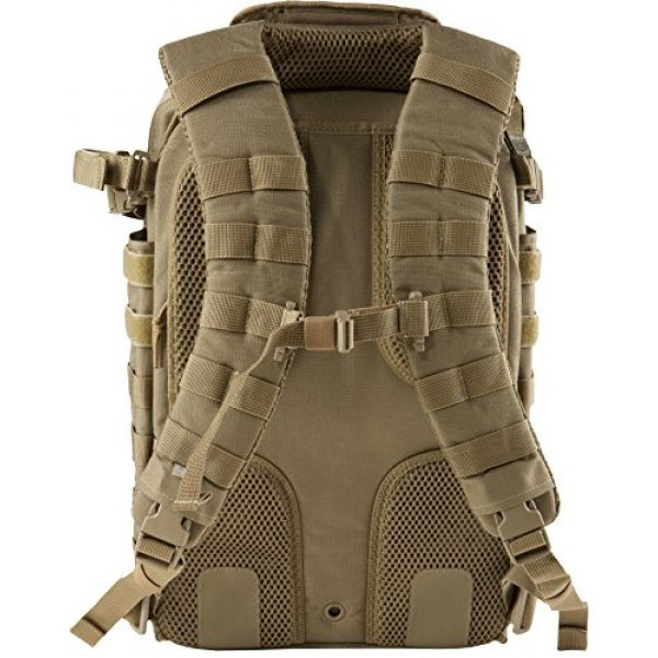 5.11 Tactical Backpack 2 5.11 Tactical All Hazards Prime Backpack, 29 Liters Capacity, Laptop Compartment, Style 56997, Sandstone