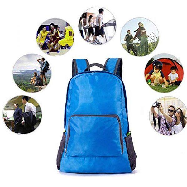 Bidiri Tactical Backpack 7 Bidiri Ultra Light Folding Backpack Waterproof Foldable Daypack Portable Travelling Pack Casual Handy Backpack for Hiking Camping Sports School for Men Women