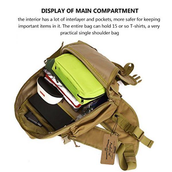 ArcEnCiel Tactical Backpack 7 ArcEnCiel Tactical Sling Pack Military Molle Chest Crossbody Shoulder Bags Motorcycle Bicycle Assault Range Diaper Backpack