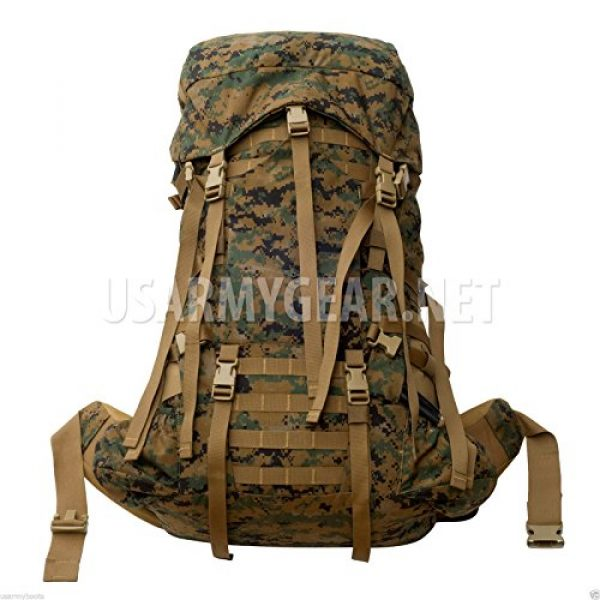 Propper Industries Tactical Backpack 3 Usmc Gen 2 Marpat Tan Woodland Ilbe Main Pack with Lid Belt Complete Arcyteryx