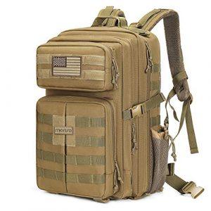 MOSISO Tactical Backpack 1 MOSISO Tactical Backpack, 40L 2-Layer Molle Rucksack Daypack Shoulder Bag