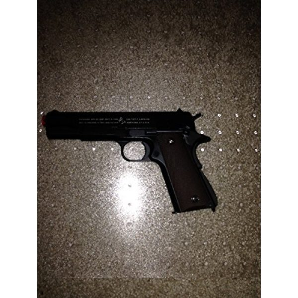 Prima USA Airsoft Pistol 1 KJW model-609191 tokyo marui m1911 co2 blowback full metal bcgbb-609-co(Airsoft Gun)