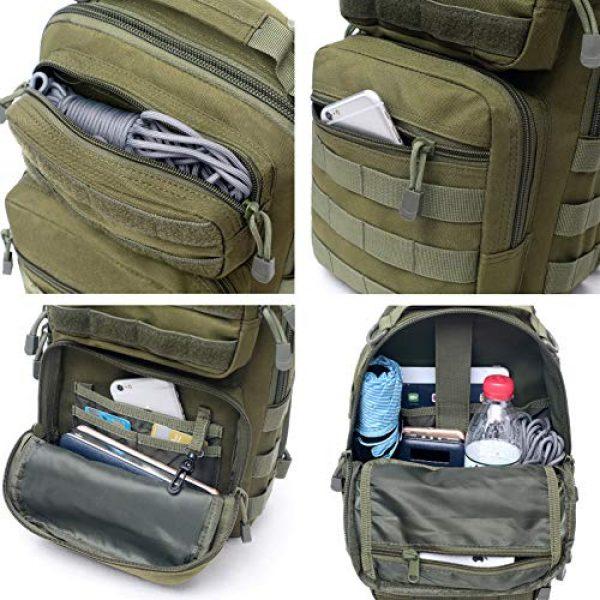 Tacticool Tactical Backpack 5 Tactical Sling Bag Pack Military Rover Shoulder Sling Backpack Molle Assault Range Bags Chest Pack Day Pack Diaper Bag