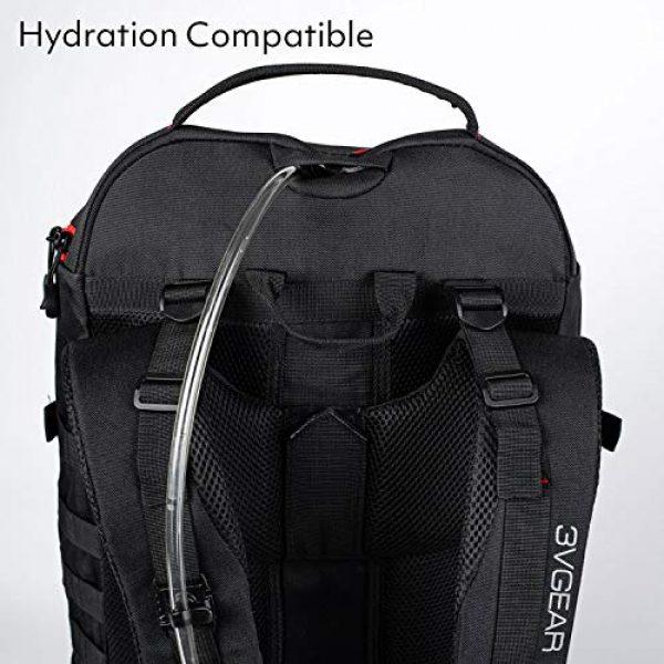 3V Gear Tactical Backpack 5 3V Gear Sovereign Redline Internal Frame Backpack - 50 Liter