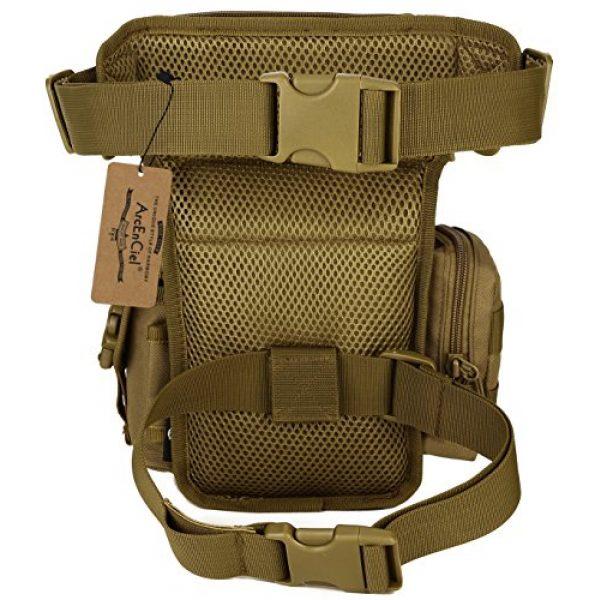 ArcEnCiel Tactical Backpack 2 ArcEnCiel Leg Bag Tactical Military Drop Waist Thigh Hip Fanny Pack Tool Gear Pouch