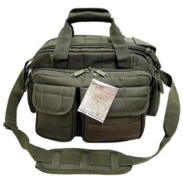 Explorer Tactical Backpack 2 Explorer Tactical 12 Pistol Padded Gun and Gear Bag OD Green
