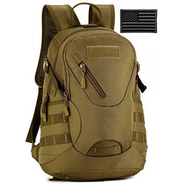Protector Plus Tactical Backpack 1 Protector Plus Tactical Motorcycle Backpack Small Military MOLLE Cycling Hydration Daypack (Patch Included)