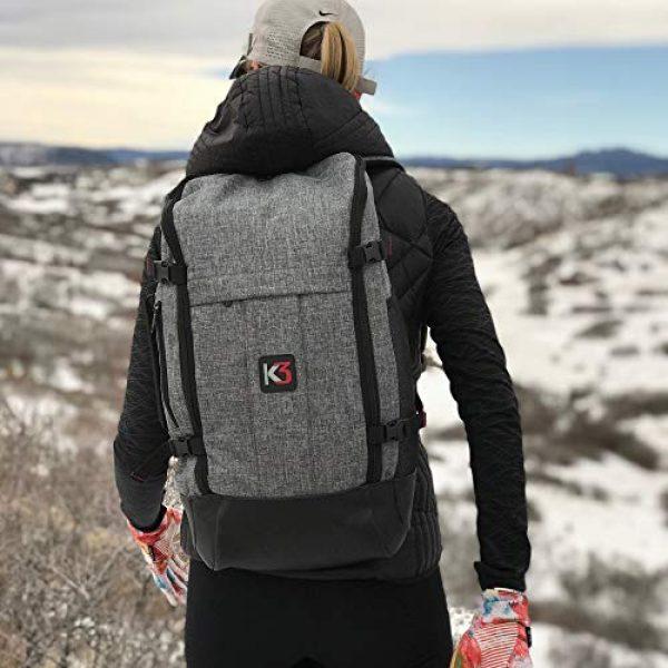 K3 Tactical Backpack 6 K3 Alpha 24 Liter Weatherproof Water Resistant Backpack