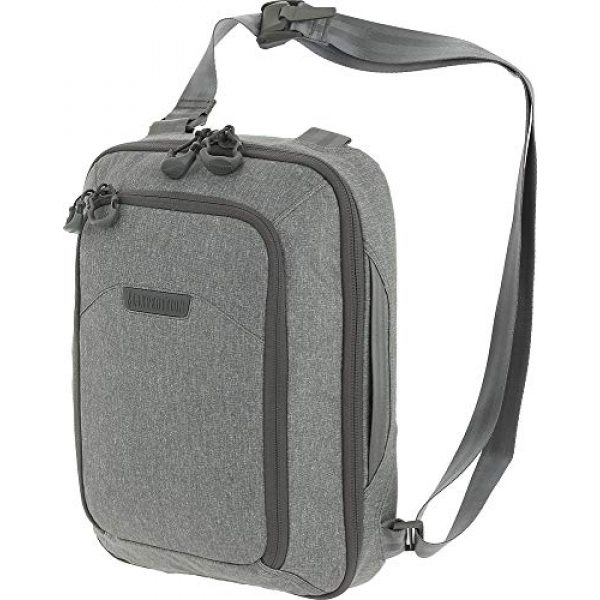 Maxpedition Tactical Backpack 1 Maxpedition Entity Tech Sling Bag (Large) 10L, Ash, One Size (NTTSLTLAS)