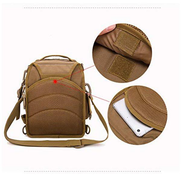 Ornate Tactical Backpack 5 Ornate Tactical Sling Bag, 600D Bug Out Molle Backpack