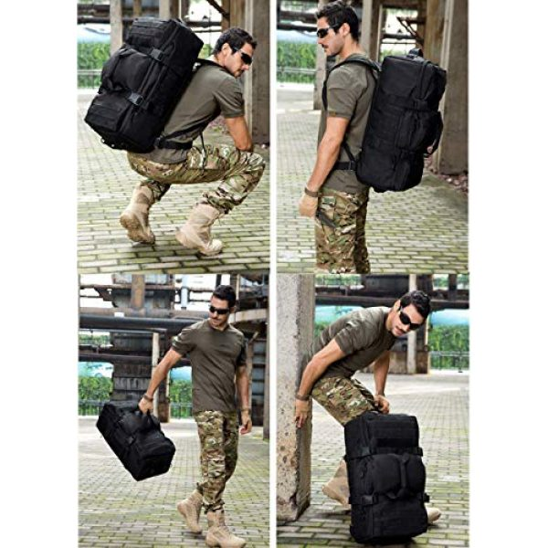 CREATOR Tactical Backpack 7 CREATOR 60L Tactical Backpack Molle Travel Luggage Bags Camping Daypack Duffle Bag