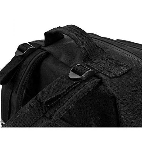 Tactical Pro Supply Tactical Backpack 5 Tactical Pro Supply Kevlar Ranger Back Pack (Black)
