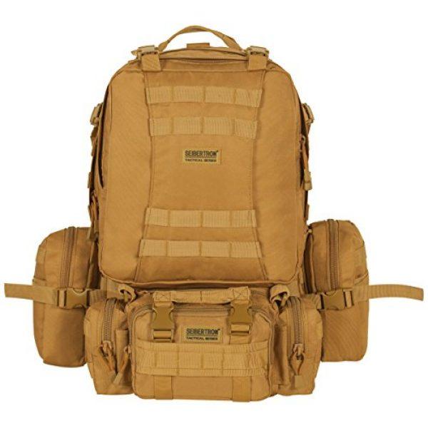 Seibertron Tactical Backpack 1 Seibertron 3 Day Tactical Backpack Waterproof Molle Bag/Rucksacks