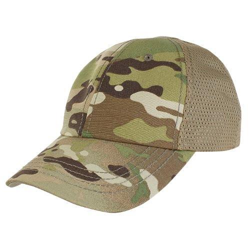 Condor Tactical Hat 1 CONDOR TCTM-008: Mesh Tactical Team Cap - MultiCam