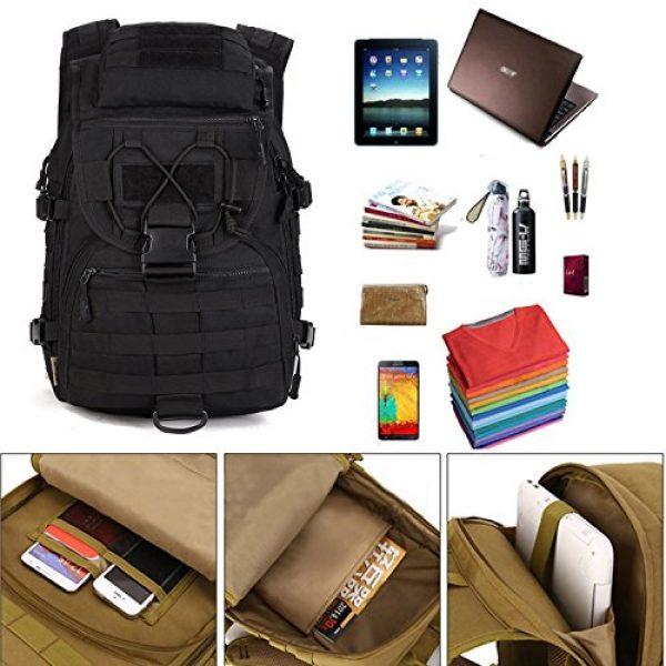 Huntvp Tactical Backpack 2 Huntvp 40L Military Tactical Backpack MOLLE Assault Daypack Rucksack WR