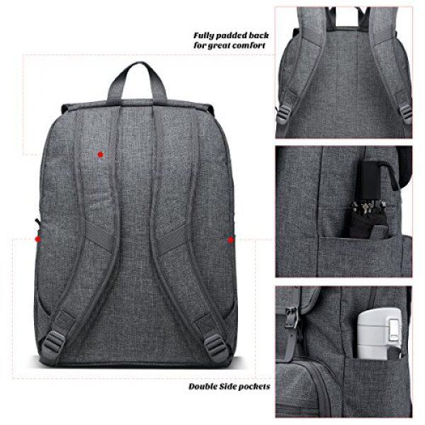 ULAK Tactical Backpack 5 ULAK Mini Backpack Lightweight Rucksack Slim Anti Theft Computer Bag