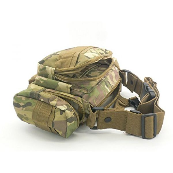 Acme Approved Tactical Backpack 6 Acme Approved Durable 600D Waterproof Fablic Utility 3P Military Tactical Duffle Waist Bags (CP Camo)