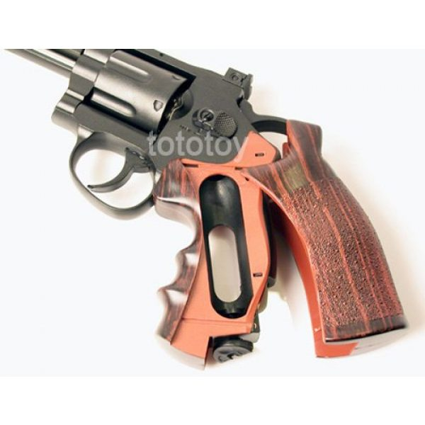 "Boomingisland Airsoft Pistol 4 Boomingisland Wingun 701 4"" Airsoft CO2 Revolver Black"