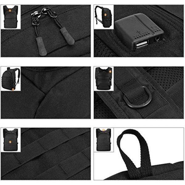 Huntvp Tactical Backpack 5 Huntvp PUBG Backpack Tactical Backpack Laptop Military College Bag Level 3
