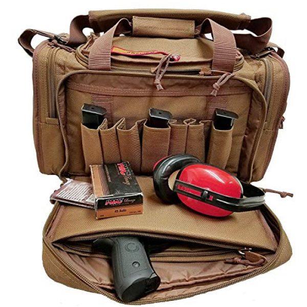 Explorer Tactical Backpack 2 Explorer Tactical Range Ready Bag 18-Inch Tan