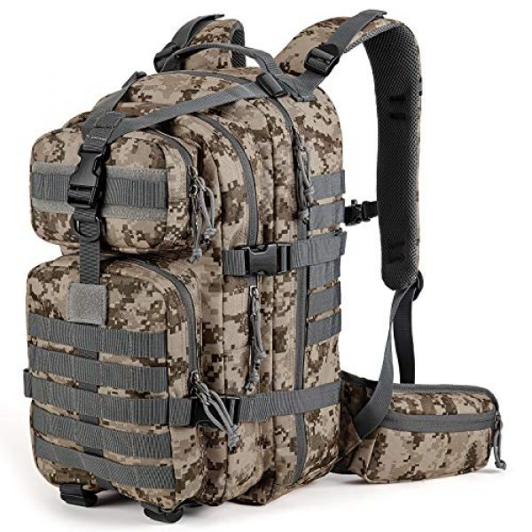 Gelindo Tactical Backpack 1 Gelindo Military Tactical Backpack, Army Molle Bag for Hunting, Camping,Hiking 35L
