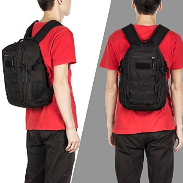 Wowelife Tactical Backpack 7 Wowelife Mini Tactical Backpack 10L Small Military Day Pack School Bag for Hunting Camping Trekking Travel