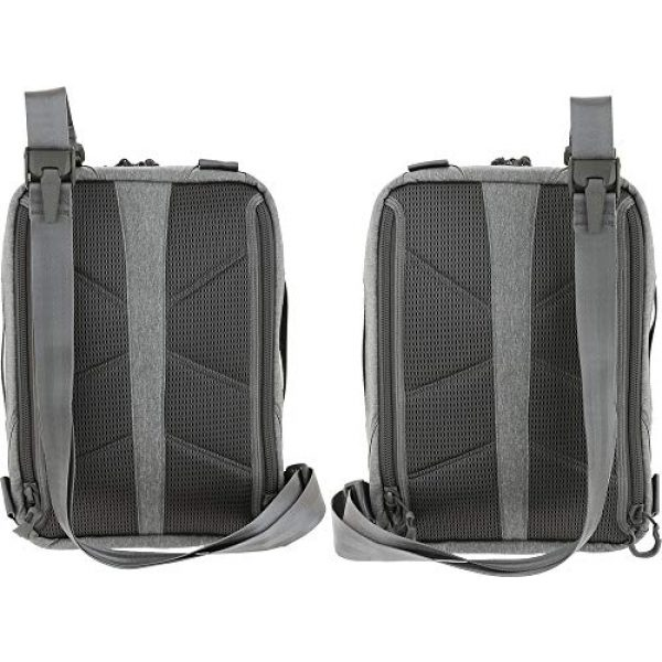 Maxpedition Tactical Backpack 3 Maxpedition Entity Tech Sling Bag (Large) 10L, Ash, One Size (NTTSLTLAS)