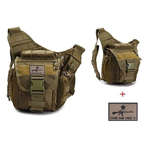 Klau Tactical Backpack 1 Klau Outdoor Sport Military Women and Men's Multi-Functional Tactical Messenger Shoulder Bag