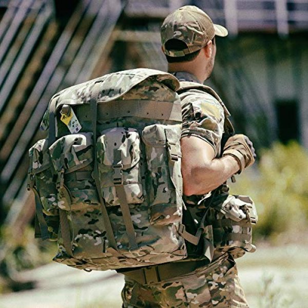 MT Tactical Backpack 7 Military Rucksack Alice Pack Army Backpack and Butt Pack