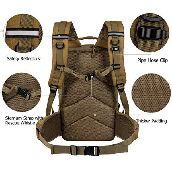 RUPUMPACK Tactical Backpack 3 RUPUMPACK Military Tactical Backpack Army MOLLE Hydration Bag 3 Day Rucksack Outdoor Hiking School Daypack 33L