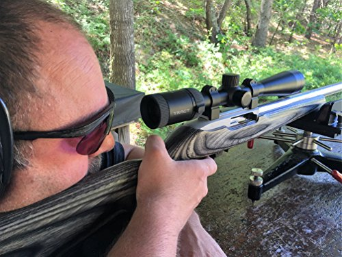 Tract Rifle Scope 6 Tract 22 FIRE 4-12x40 Rimfire Scope w/BDC Reticle - Rimfire Optics Designed to Perform at Long Range