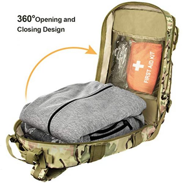 NOOLA Tactical Backpack 5 NOOLA Military Tactical Backpack Large Army 3 Day Assault Pack Molle Bag Rucksack