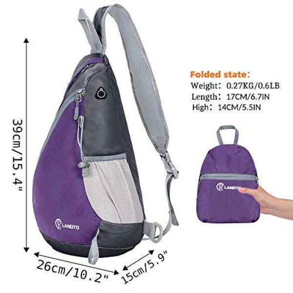 ZOMAKE Tactical Backpack 2 Sling Bag Backpack, Water Resistant Shoulder Backpack Crossbody Bags Daypack
