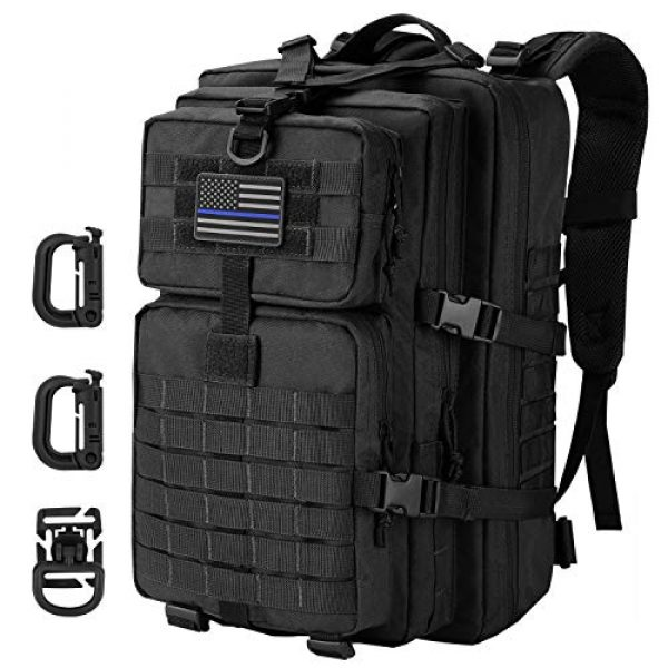 Hannibal Tactical Tactical Backpack 1 Hannibal Tactical MOLLE Assault Pack, Tactical Backpack Military Army Camping Rucksack, 3-Day Pack