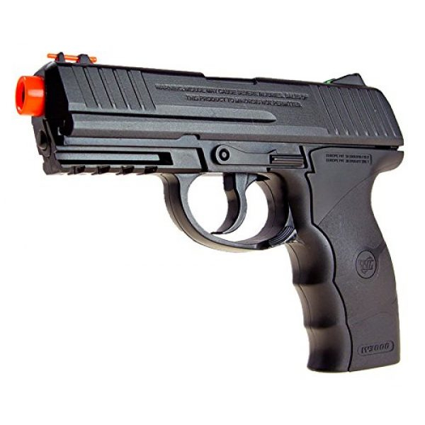 WG Airsoft Pistol 3 WG model-4303 w3000 full metal co2 non-blowback pistol/black(Airsoft Gun)