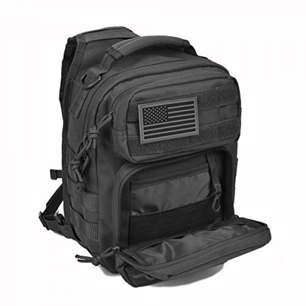 REEBOW GEAR Tactical Backpack 3 REEBOW GEAR Tactical Sling Bag Pack Military Rover Shoulder Sling Backpack Small