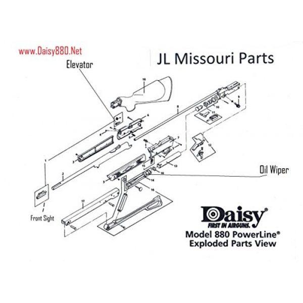 Daisy Air Gun Accessory 7 Daisy Powerline 880 880s 7880 Rh Cover Side R Right Pellet Bb Air Rifle Part