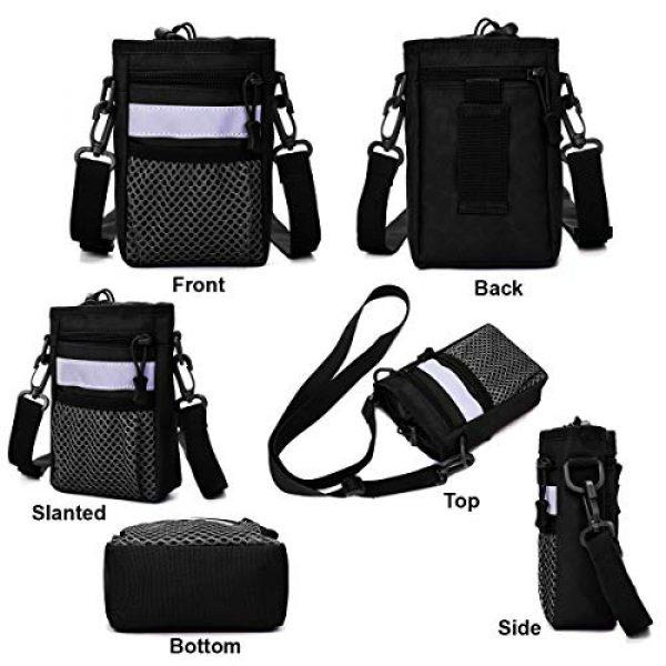 BraveHawk OUTDOORS Tactical Backpack 2 BraveHawk OUTDOORS Shoulder Messenger Bag Bottle Holder Pouch, 800D Military Nylon Oxford EDC Phone Holder Small Crossbody Pack