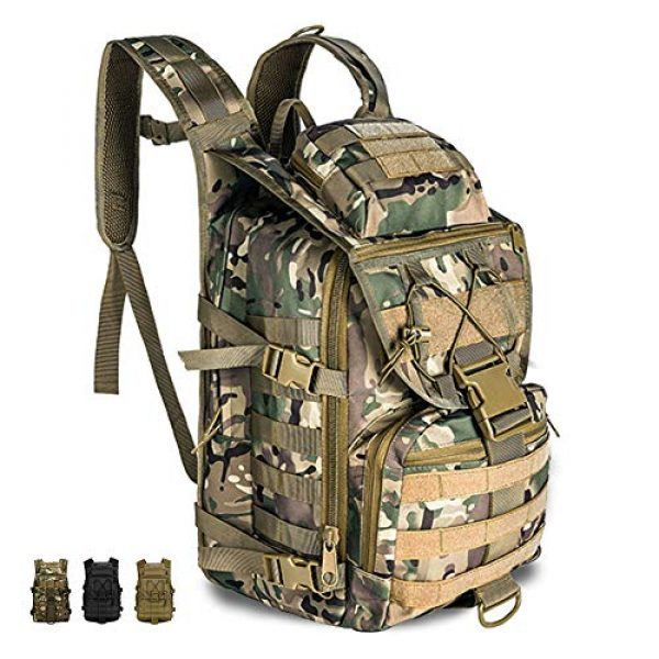 Tac Threads Tactical Backpack 1 Tac Threads 40L Military Tactical Molle Backpack Bug Out Heavy Duty EDC Bag