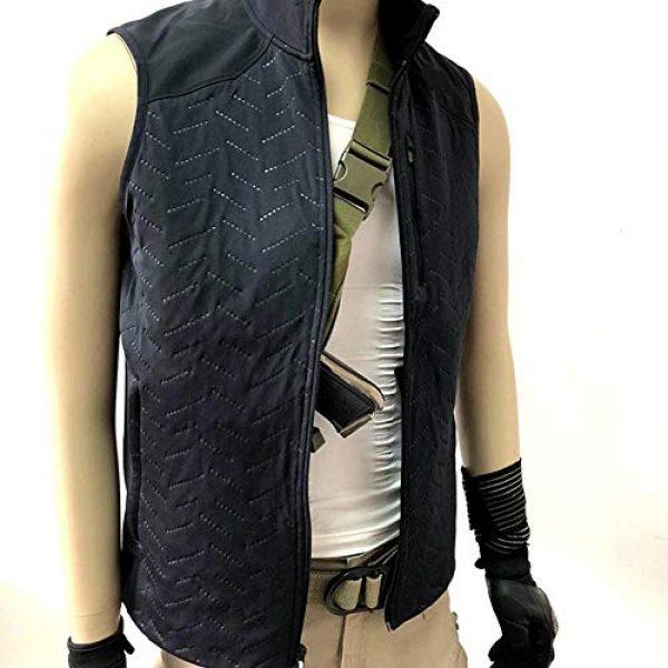 LIVIQILY Tactical Backpack 5 Men's Shoulder Bag Gun Case Single Bag Tactical Gun Bag Pistol Hand Soft Pistol Cases