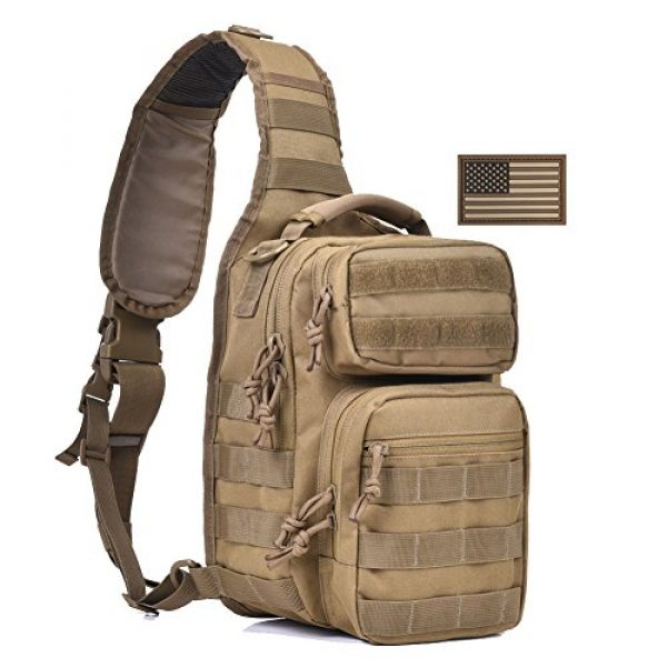 REEBOW GEAR Tactical Backpack 2 Tactical Sling Bag Military Sling Backpack Pack Small Range Bags