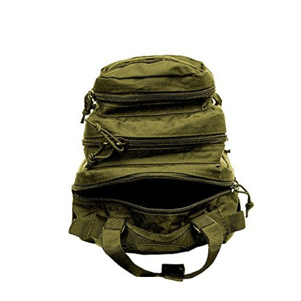 World Famous Sports Tactical Backpack 4 World Famous Sports Tactical Transport Backpack