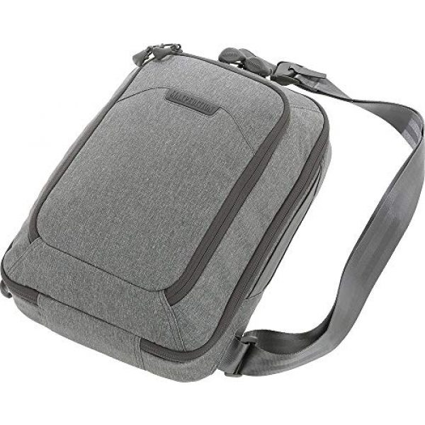 Maxpedition Tactical Backpack 4 Maxpedition Entity Tech Sling Bag (Large) 10L, Ash, One Size (NTTSLTLAS)