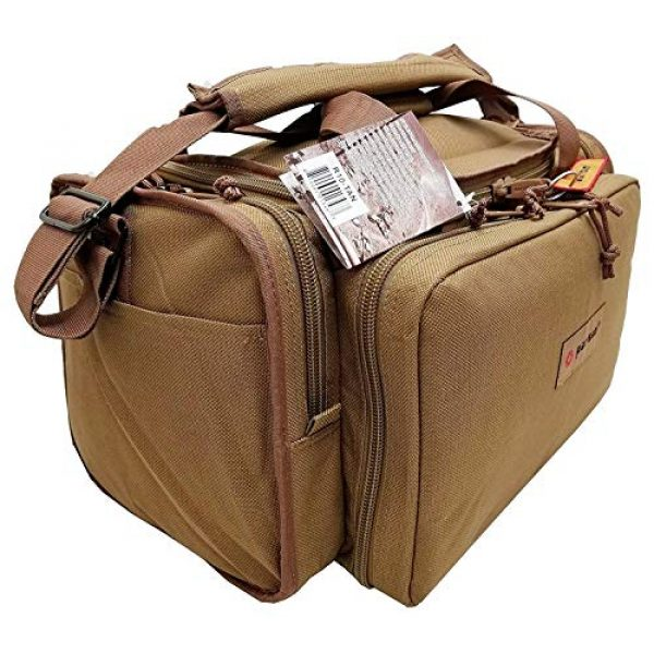 Explorer Tactical Backpack 6 Explorer Tactical Range Ready Bag 18-Inch Tan