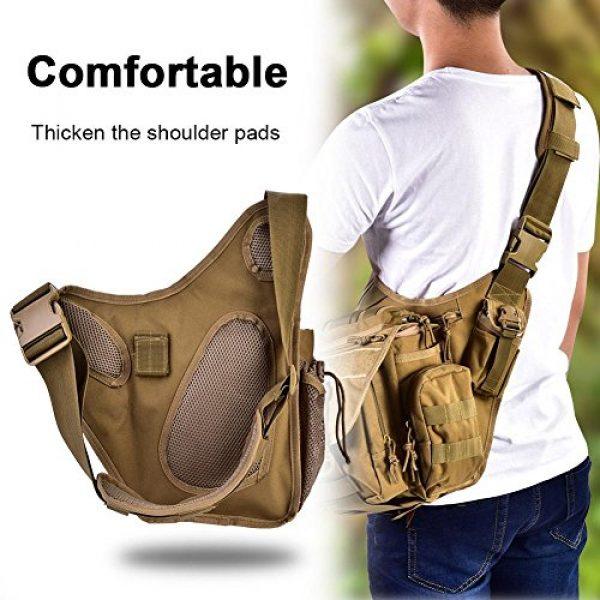 Vbestlife Tactical Backpack 4 2Colors Durable Men Military Chest Shoulder Bag Pack Military Sling Bag Chest