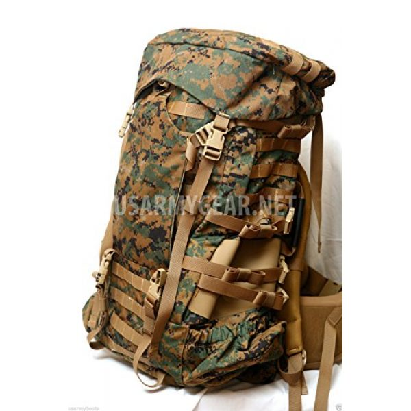 Propper Industries Tactical Backpack 5 Usmc Gen 2 Marpat Tan Woodland Ilbe Main Pack with Lid Belt Complete Arcyteryx