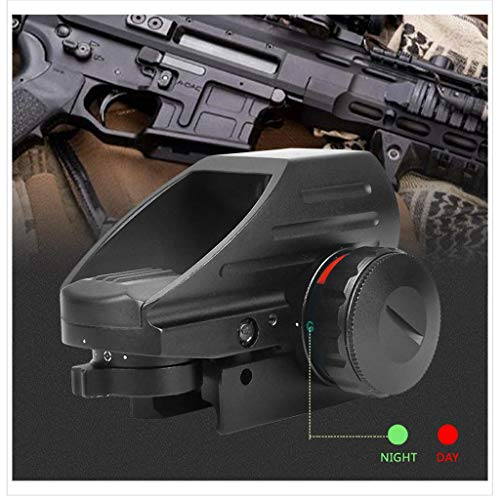 AJDGL Rifle Scope 3 AJDGL 1x22x33mm Tactical Red Dot Sight- Optical Holographic Scope with 4 Reticles Patterns Adjustable Brightness for Shooting Hunting