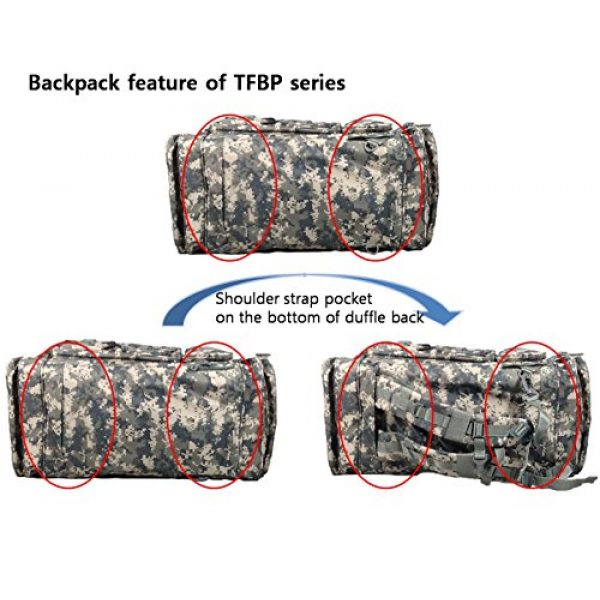 Nexpak Tactical Backpack 6 Nexpak Tactical Range Duffel and Backpack Convertible Molle Military Shoulder Strap